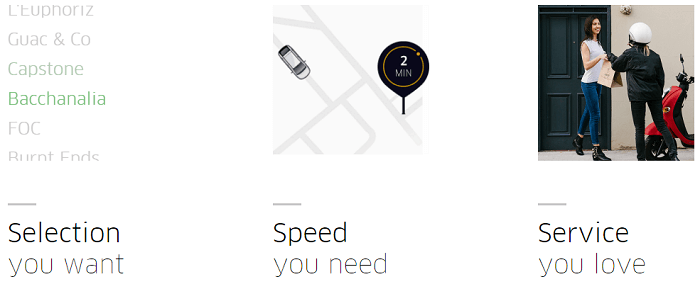 UberEATS service