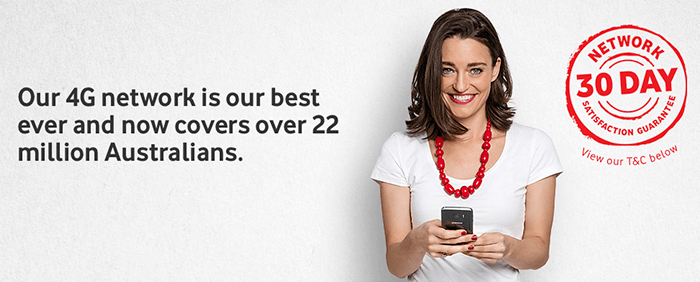 4G network - the best in Australia!