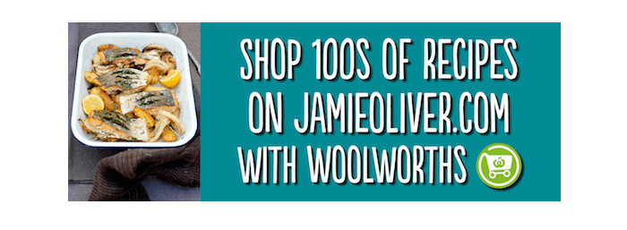 Jamie Oliver at Woolworths