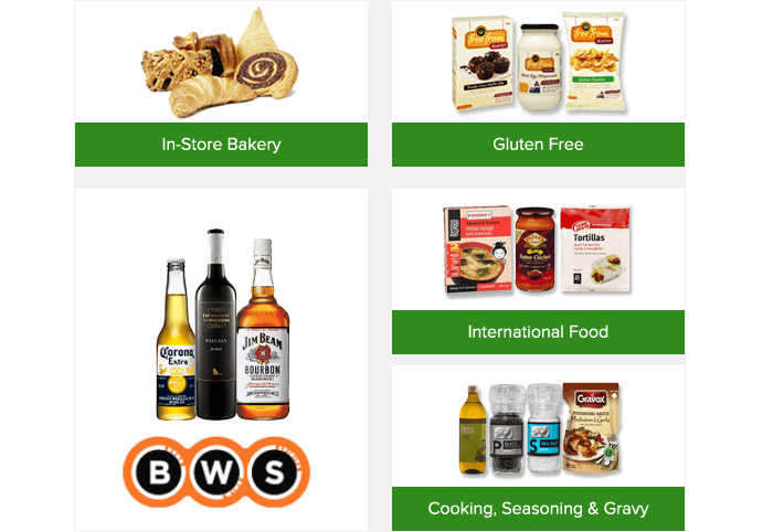 Woolworths coupon codes and promotions