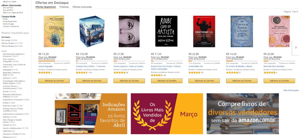 Amazon Produtos