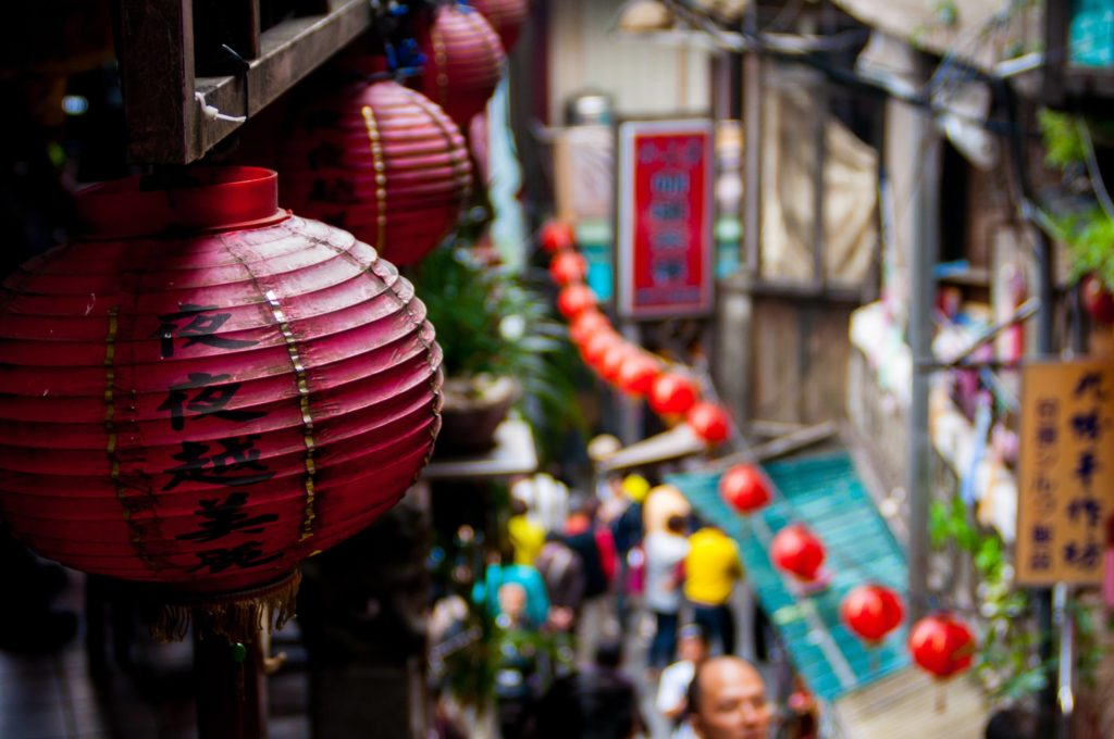 photo of chinese decorations