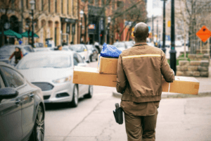 picture of delivery man