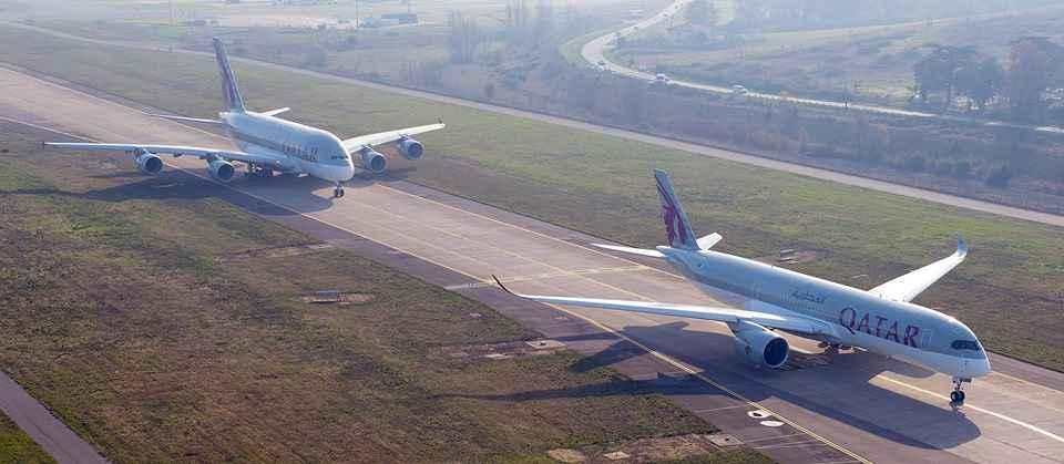 Frota Qatar Airways