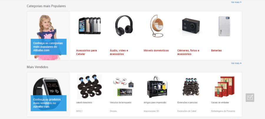 Alibaba Produtos