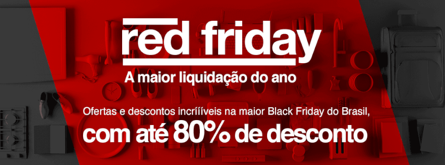 Red Friday - Black Friday das americanas