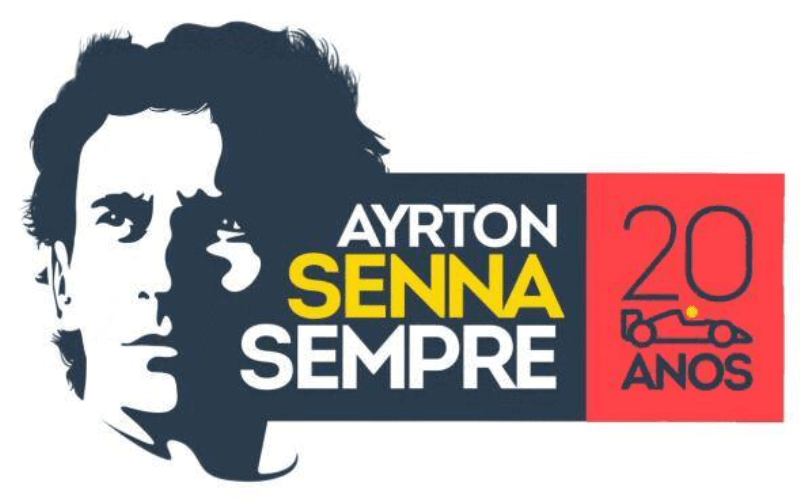 Logotipo Ayrton Senna Shop