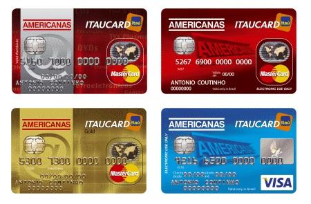 cartão Americanas
