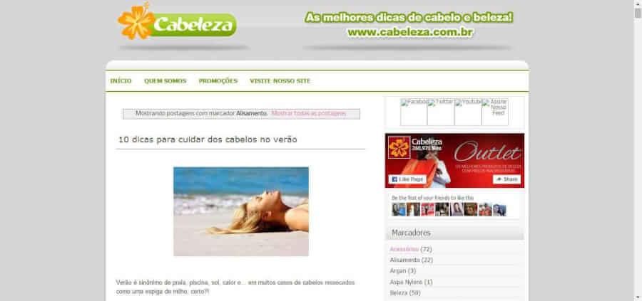 Blog Cabeleza