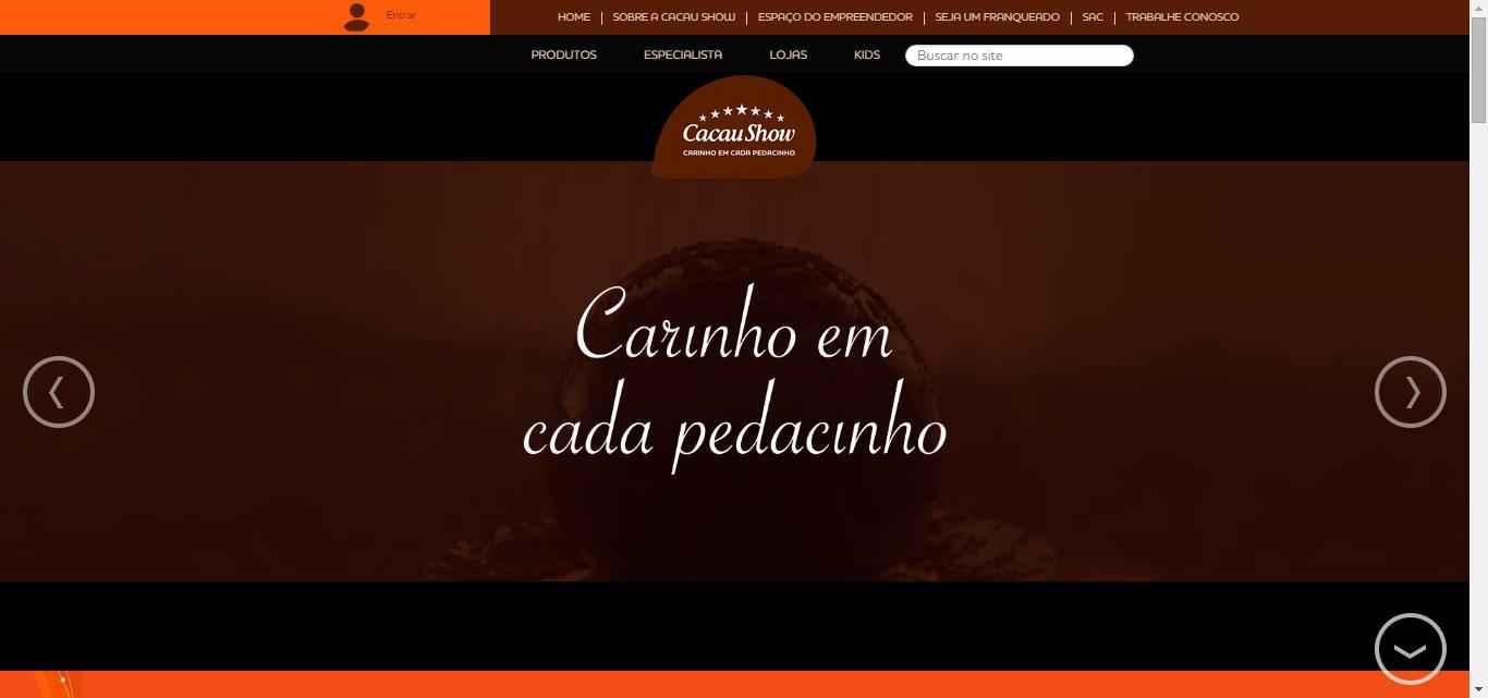 Imagem promocional Cacau Show