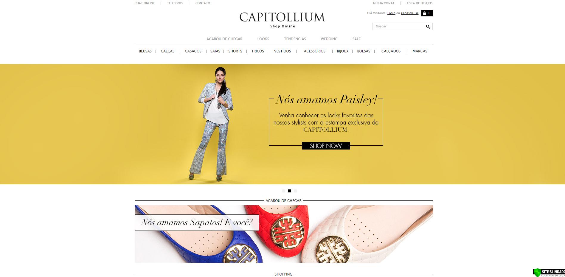 Capitollium Página Inicial