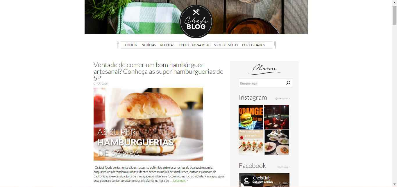 imagem do Blog ChefsClub