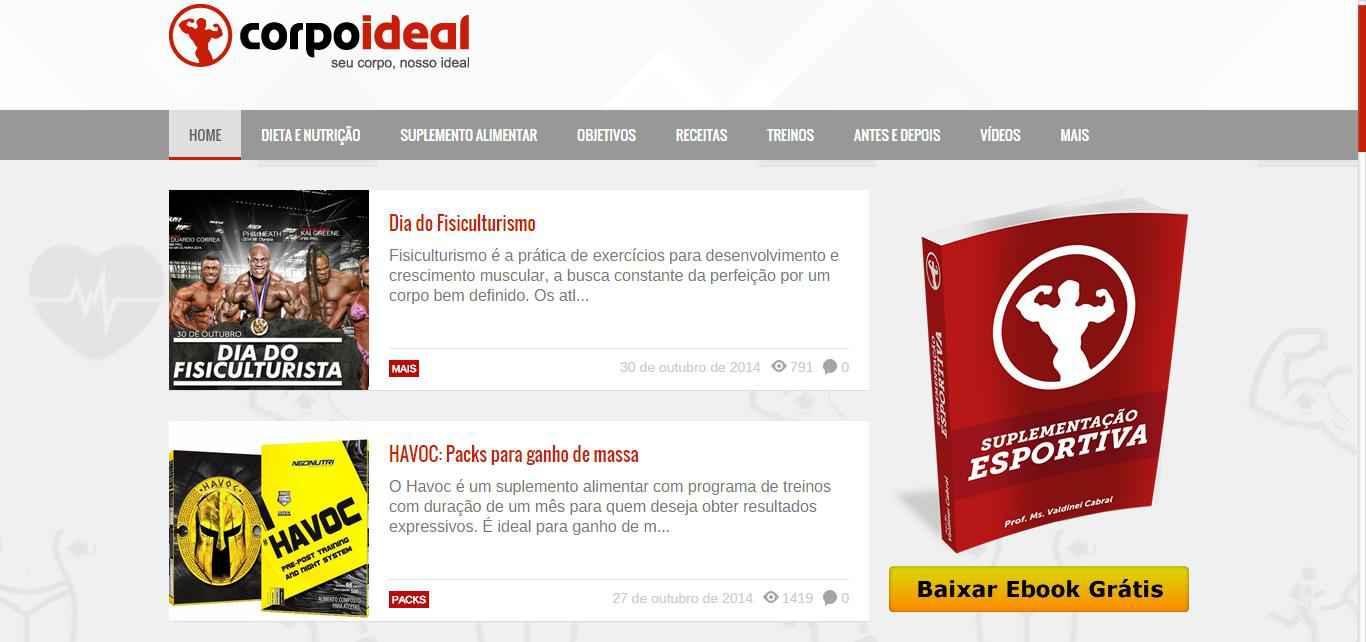 Blog Corpo Ideal