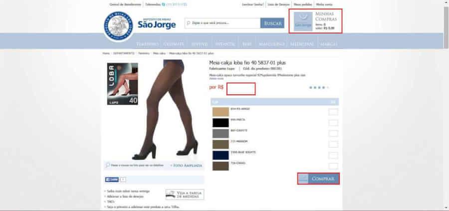 imagem do Desconto Deposito de Meias Sao Jorge