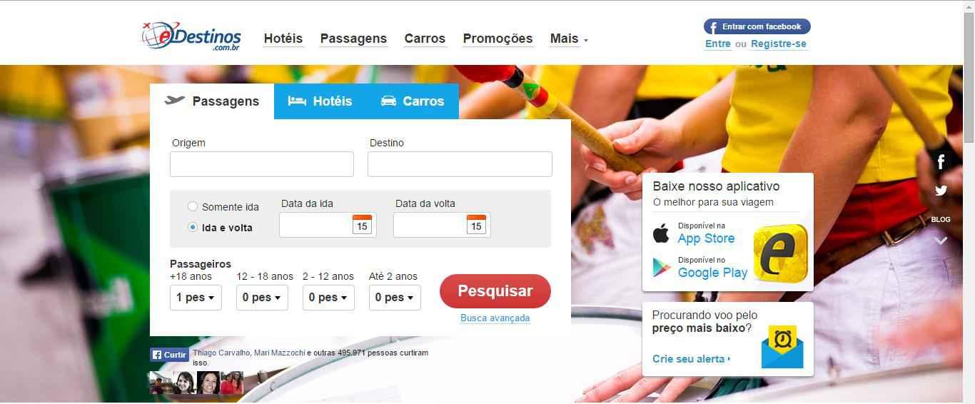 Imagem promocional Edestinos