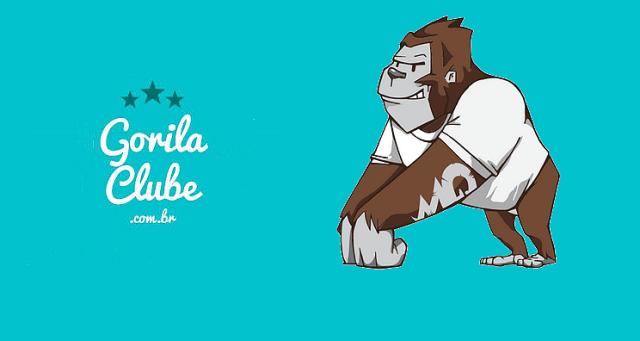Gorila Clube Logomarca
