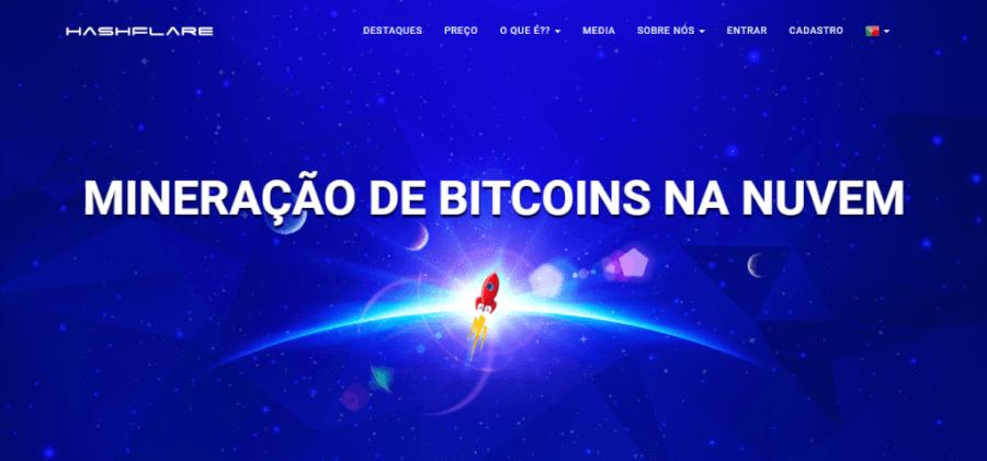 Pagina Inicial HashFlare