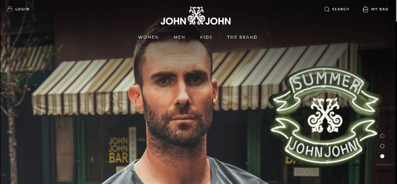 Pagina Inicial John John