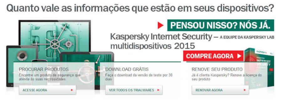 Kaspersky Promoção