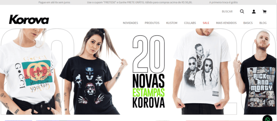 Pagina Inicial Korova