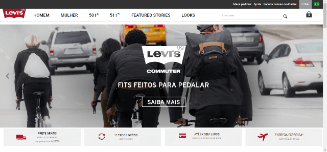 Pagina Inicial Levi's