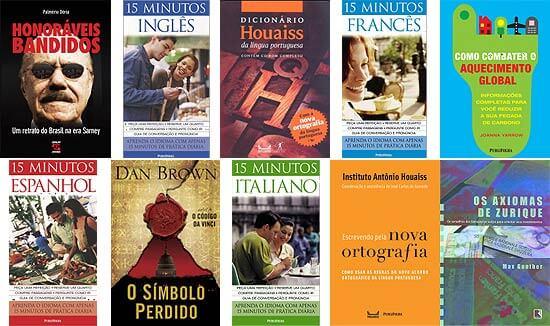 Títulos Livraria da Folha