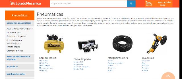 Loja do Mecânico Produtos