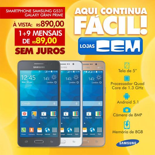 Lojas CEM Imagem Promocional