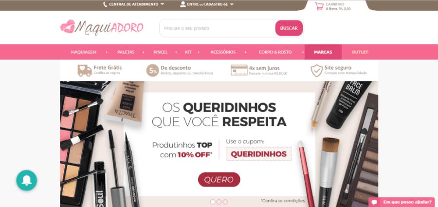 Pagina Inicial Maquiadoro