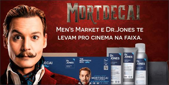Imagem Promocional Men's Market