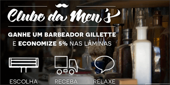 Promoção Men's Market