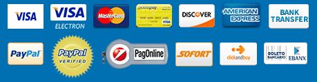 Formas de pagamento MerchandisingPlaza