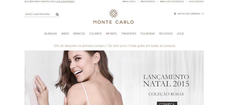 Monte Carlo Página Inicial