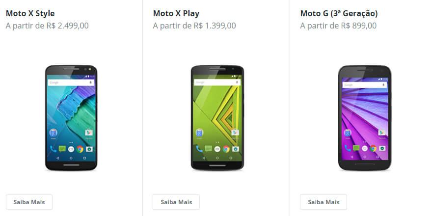 Motorola Produtos