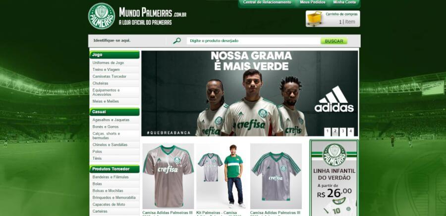 Mundo Palmeiras Página Principal