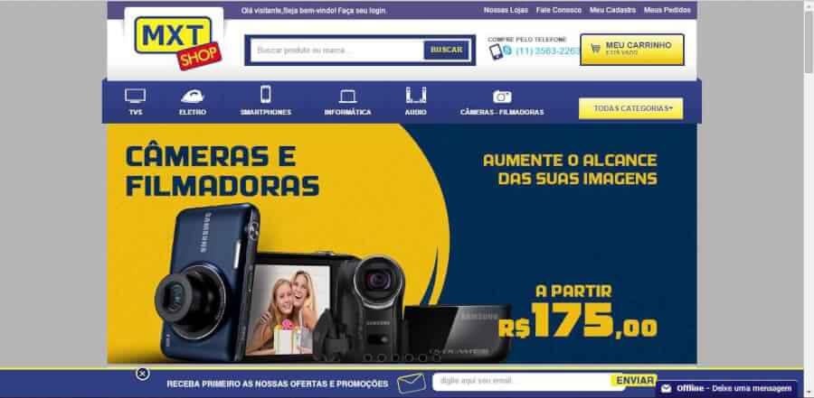 Imagem promocional MXT Shop