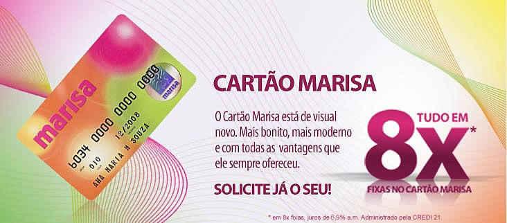 Vantagens do Cartão Marisa