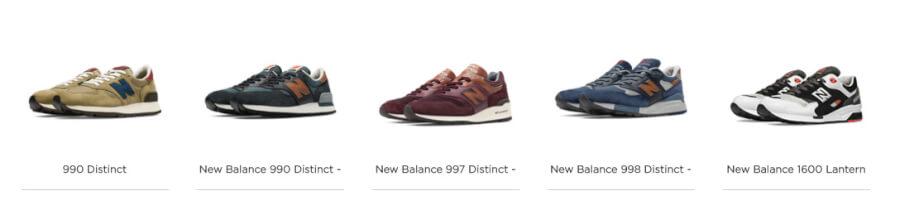 New Balance Produtos