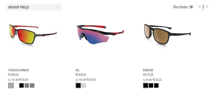 Oakley Produtos