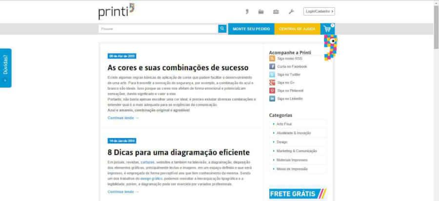 imagem Blog Printi