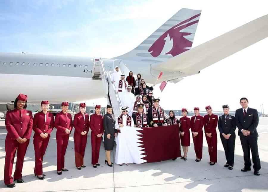 Imagem Promocional Qatar Airways