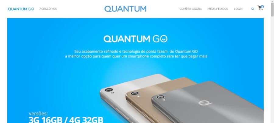 Quantum Página Inicial