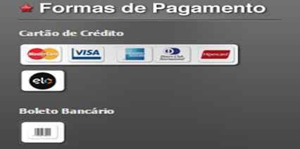 Formas de pagamento São Paulo Mania