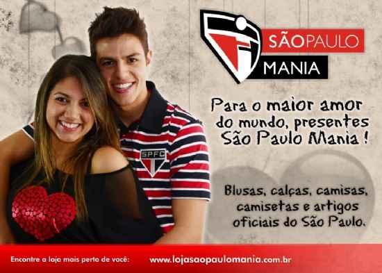 São Paulo Mania promoção