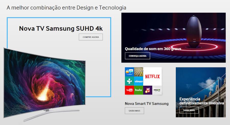 Samsung imagem promocional