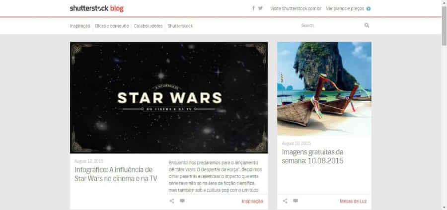 imagem do Blog Shutterstock