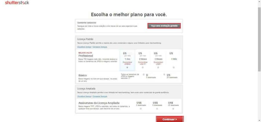 Planos Shutterstock