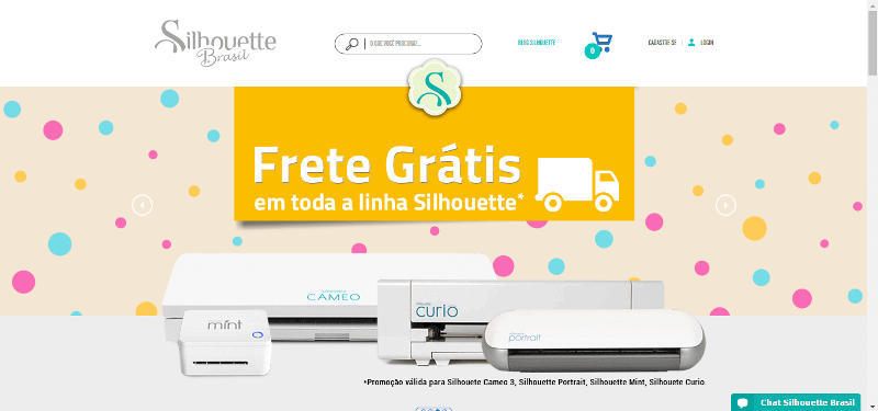 Pagina Inicial Silhouette Brasil