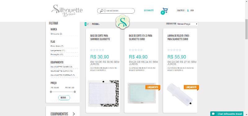 Silhouette Brasil Produtos