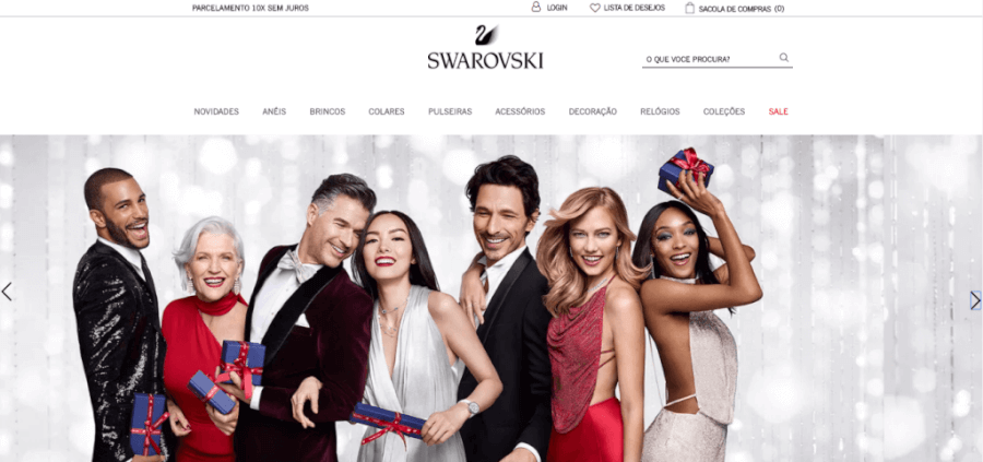 Pagina Inicial Swarovski